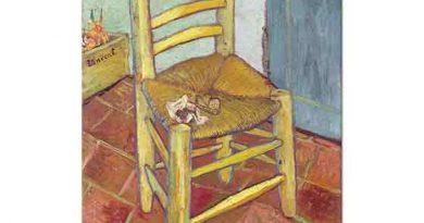 Vincent Willem van Gogh Sandalye ve Pipo