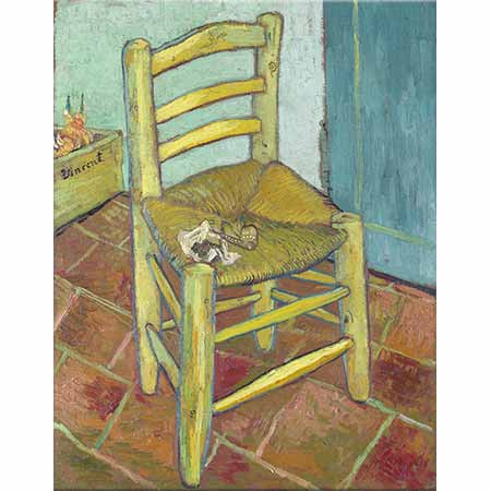 Vincent van Gogh Sandalye ve Pipo