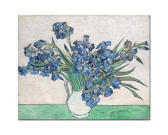 Vincent Willem van Gogh Vazoda Süsenler