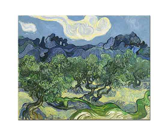 Vincent Willem van Gogh Zeytin Ağaçları