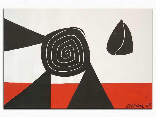 Alexander Calder isimsiz II