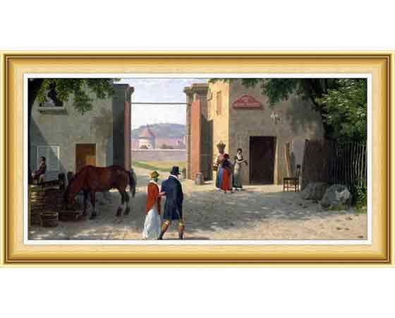 Christoffer Wilhelm Eckersberg, hayatı ve eserleri