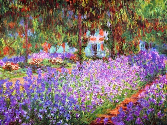 Claude Monet Sanatçının Bahçesi