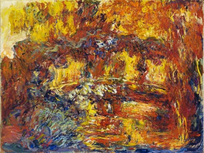 Claude Monet Japon Yürüyüş Köprüsü