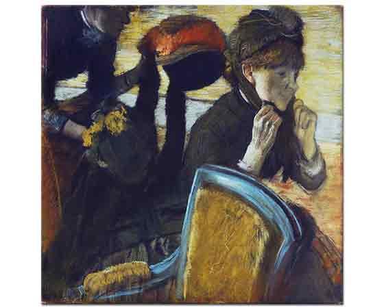 Edgar Degas Şapkacıda