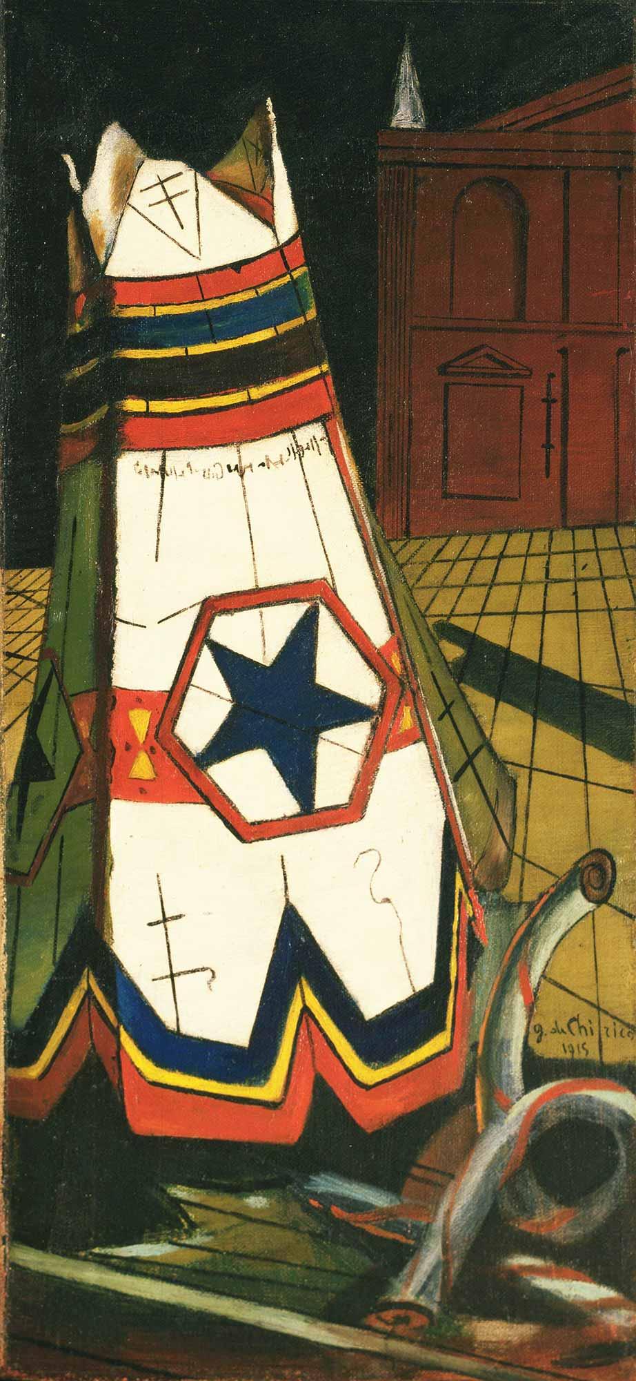 Giorgio de Chirico Prensin Oyuncakları