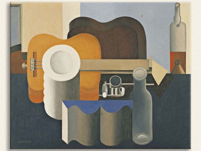 Le Corbusier Natürmort Kompozisyon
