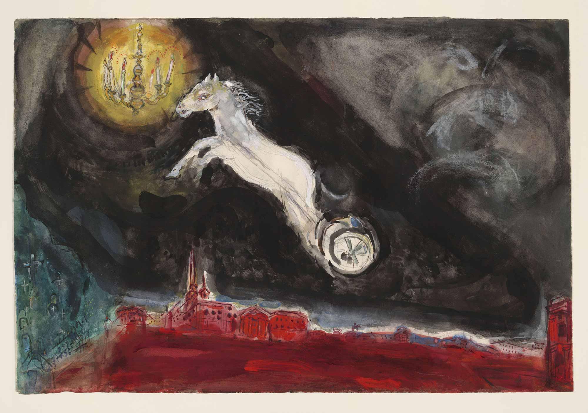 Marc Chagall St Petersburg Fantazisi