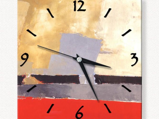 Soyutta Zaman Özel Tasarım Duvar Saati