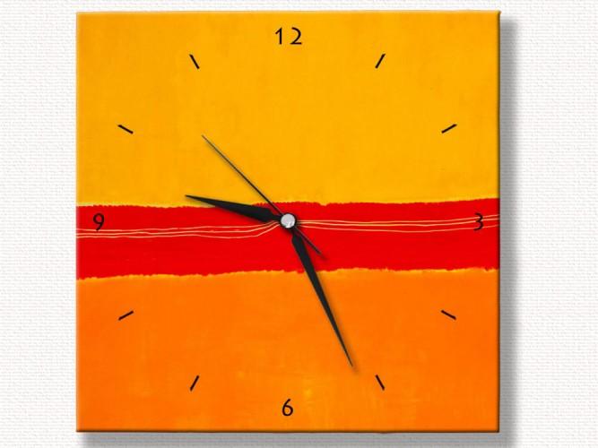 Mark Rothko Özel Tasarım Duvar Saati