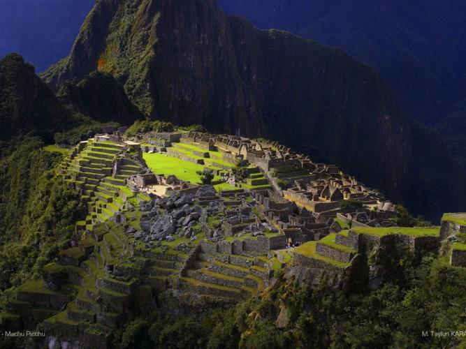 Tayfun Karabağ Machu Picchu Manzarası