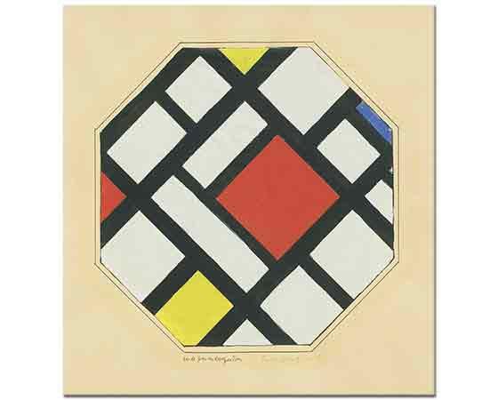 Theo van Doesburg Kompozisyon Etüdü