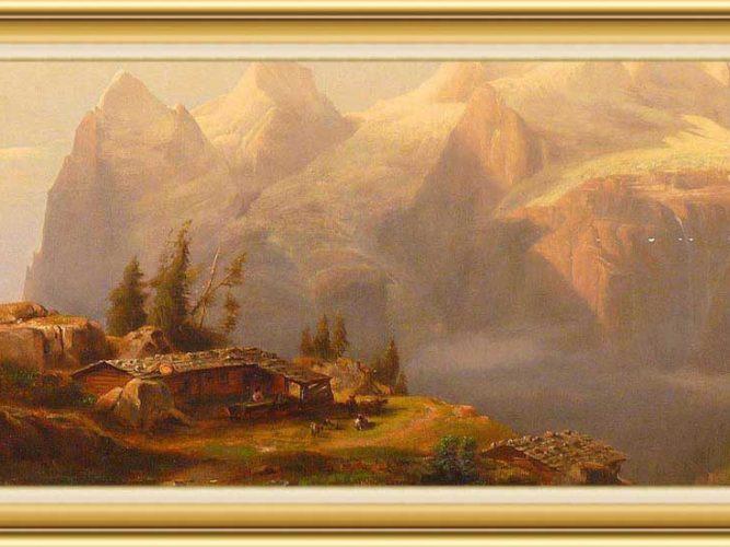 Alexandre Calame hayatı ve eserleri