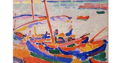 Andre Derain Balıkçı Tekneleri Collioure