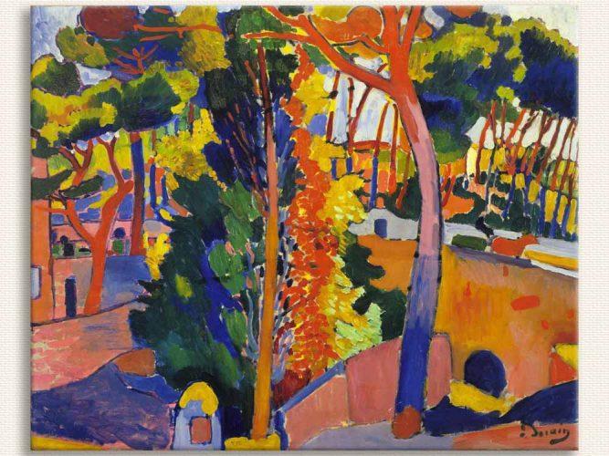 Andre Derain Riou Köprüsü tablosu