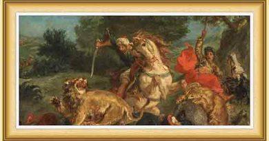 Eugene Delacroix hayatı ve eserleri