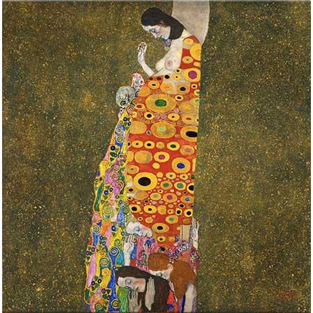 Gustav Klimt Umut II