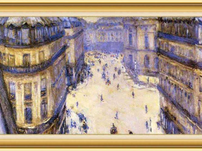 Gustave Caillebotte hayatı ve eserleri