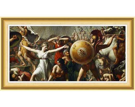 Jacques Louis David hayatı ve eserleri