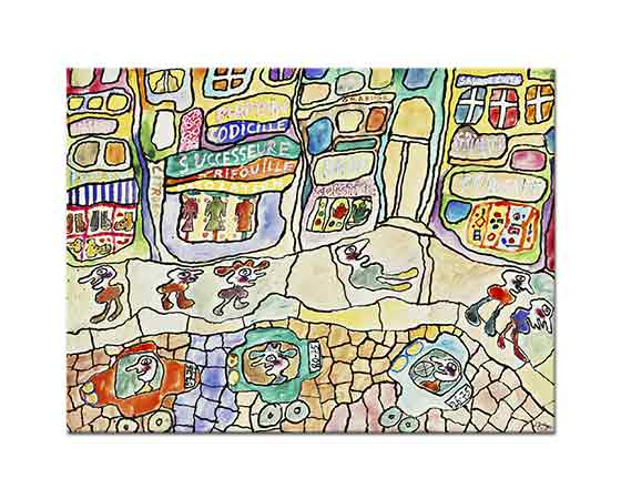 Jean Dubuffet Baba Solstice