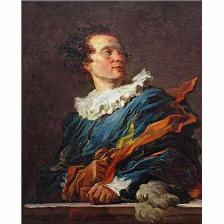 Jean Honore Fragonard Portre