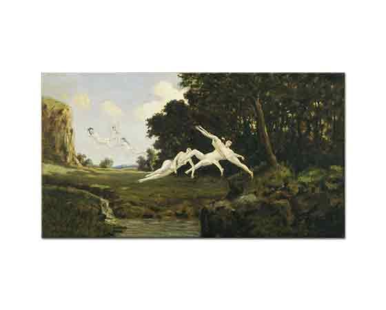 Louis Michel Eilshemius Akşam Rüzgarı