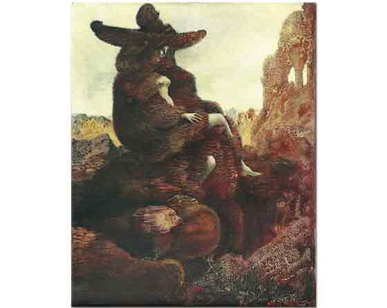 Max Ernst 1941'de Alice