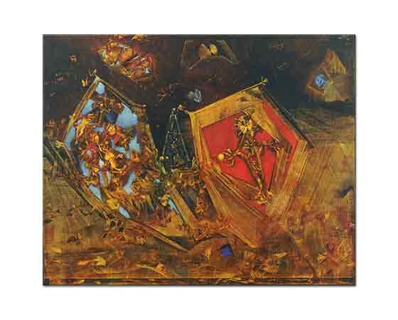 Max Ernst Dünya Bir Masaldır