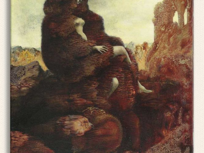 Max Ernst 1941'de Alice tablosu