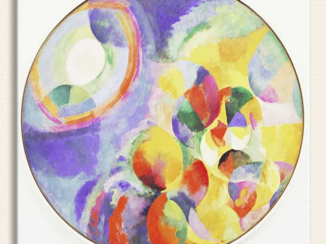 Robert Delaunay Güneş ve Ay tablosu