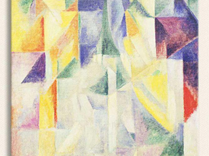 Robert Delaunay Pencereler tablosu