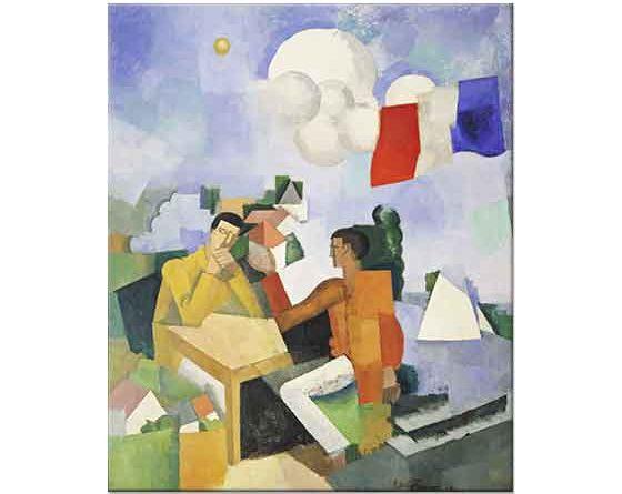 Roger de la Fresnaye Gökyüzünün Fethi