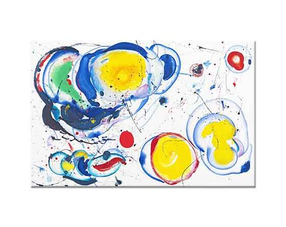 Sam Francis Sarı ve Mavi Dengesi