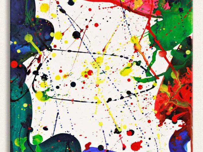 Sam Francis Renk Teması tablosu