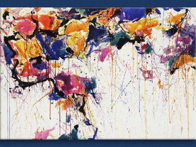 Sam Francis Renk Yağmuru