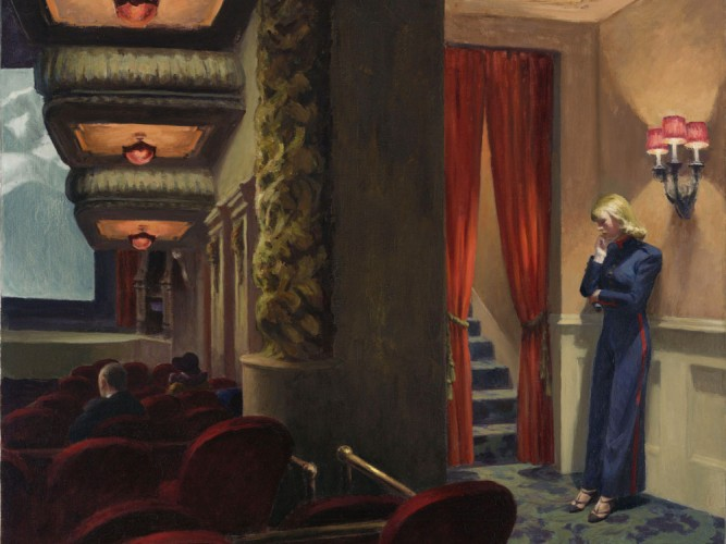 Edward Hopper Sinema New York