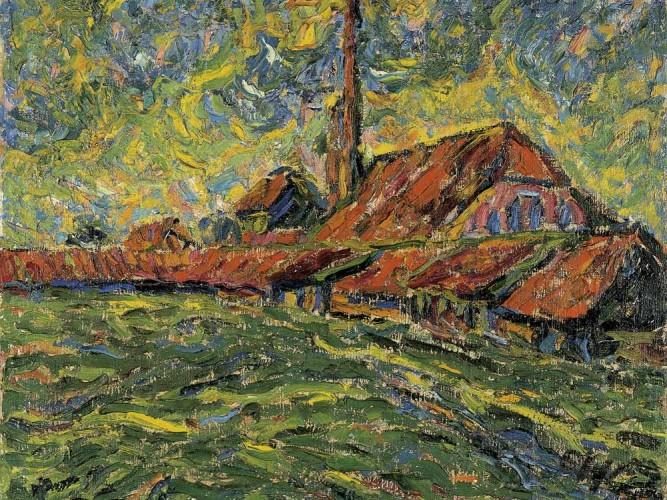 Erich Heckel Tuğla Fabrikası