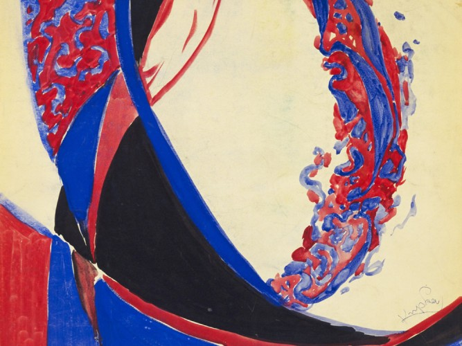 Frantisek Kupka iki renk arasında füg 01