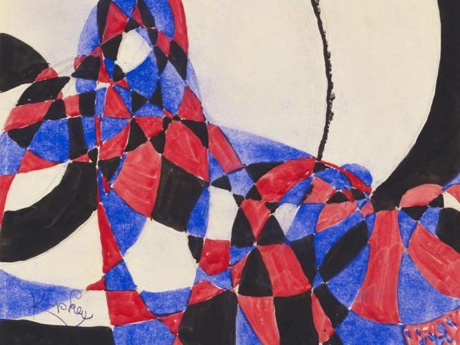 Frantisek Kupka iki renk arasında füg 03
