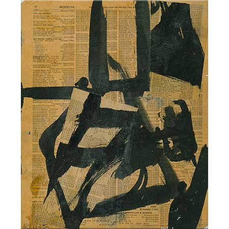 Franz Kline İsimsiz 02