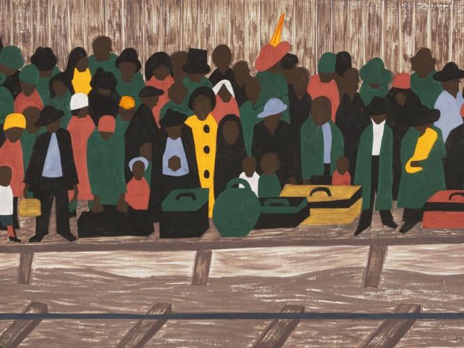 Jacob Lawrence Göçmenler tablosu