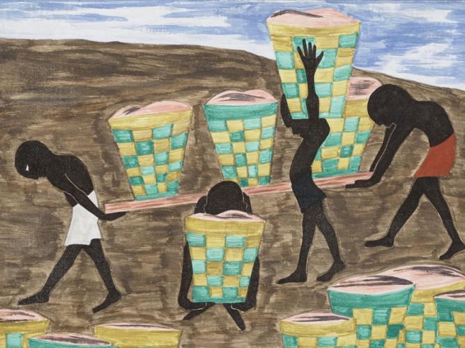 Jacob Lawrence çocuk işçiliği ve eğitimsizlik