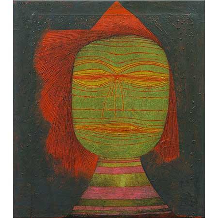 Paul Klee Aktör Maskesi