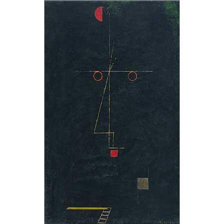 Paul Klee Akrobatın Portresi