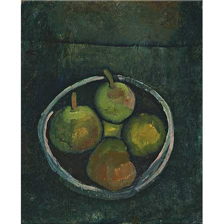 Paul Klee Dört Elmalı Natürmort