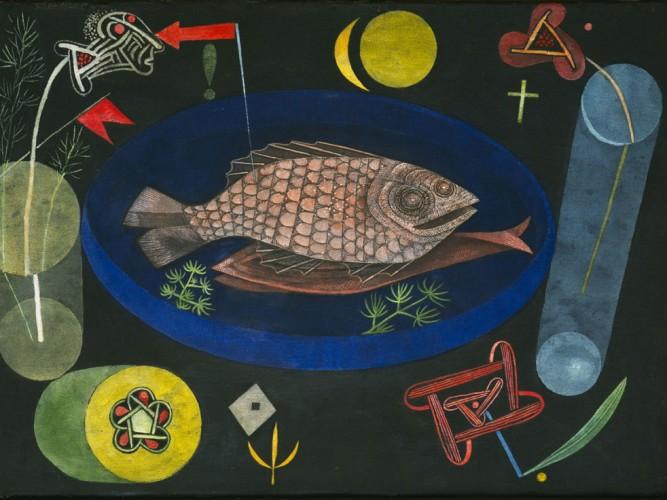 Paul Klee Balığın Etrafında