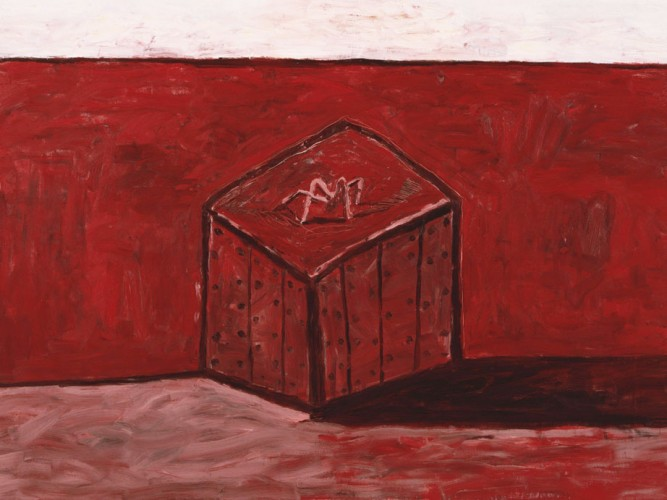 Philip Guston Kutu ve Gölgesi