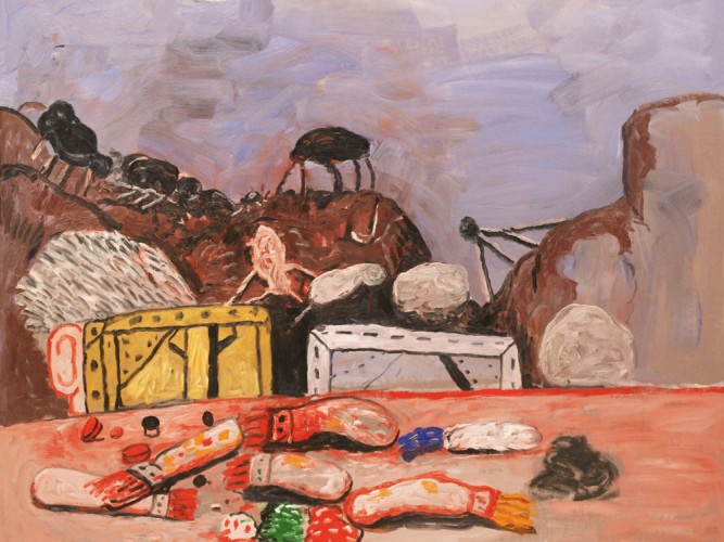 Philip Guston Mehtap