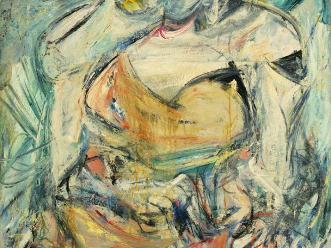 Willem de Kooning Kadın 02