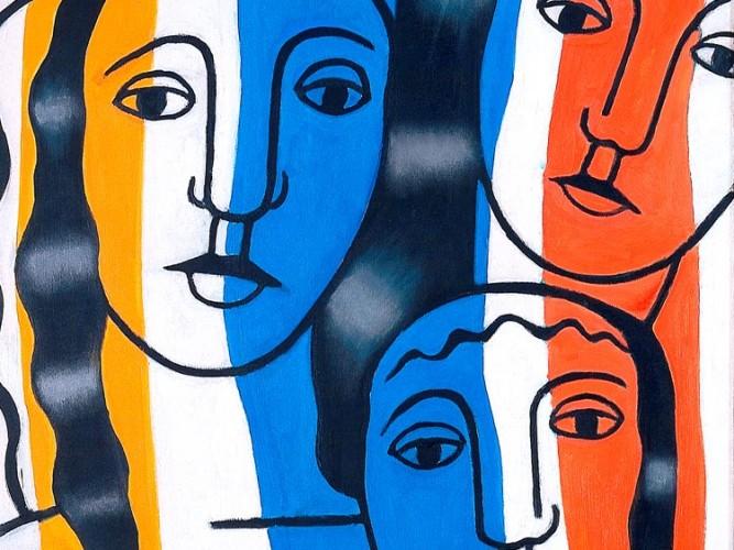 Fernand Leger Figüratif